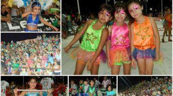 lanzaron el carnaval de los pequenos duendes en concordia
