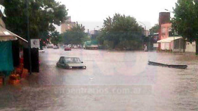 Concepción del Uruguay, bajo agua
