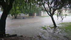 segui, otra de las ciudades entrerrianas afectadas por el temporal