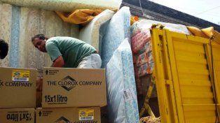 Irazusta, Urdinarrain y otras localidades sufren el temporal