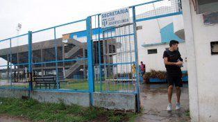 Los jugadores del León se retiraron del estadio sin entrenar.