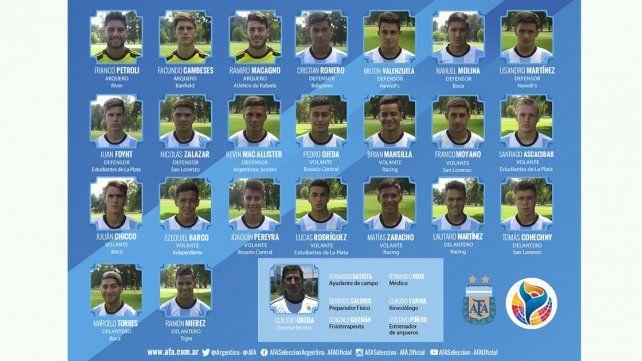 El seleccionado comenzará su recorrido Sudamericano el 19 ante Perú.