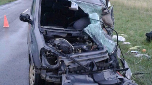 Un hombre murió en un accidente que involucró a tres vehículos en ruta 127