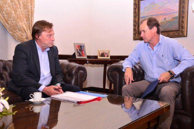 Bordet y Varisco hablaron de los trabajos que encararán en conjunto, en 2017