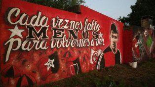 El nuevo mural que los hinchas de Newells le dedicaron a Messi