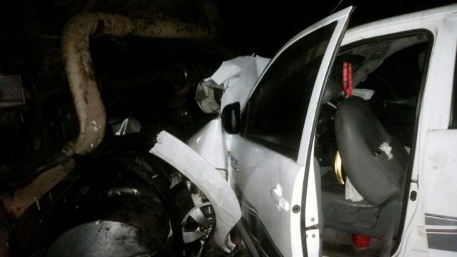 Siete heridos en un accidente múltiple en la ruta 14