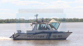 Buscan en el río Uruguay a un prefecto desaparecido