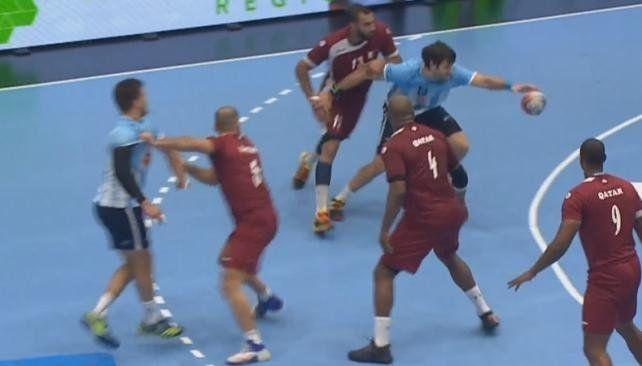 Los Gladiadores cayeron ante Qatar en el inicio de la gira amistosa