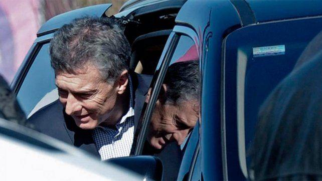 Macri en una de sus últimas fotos