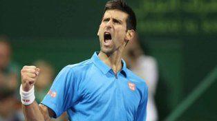Novak Djokovic le ganó la final a Andy Murray y es el campeón del ATP de Doha