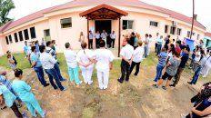 inauguraron obras de infraestructura en el hospital san miguel de bovril