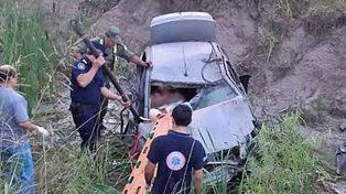 Un conductor alcoholizado se despistó y volcó al sur de Concordia