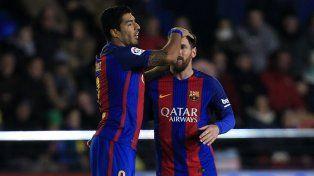 Con un gol de Lionel Messi sobre la hora Barcelona rescató un empate ante Villarreal