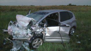 Cuatro muertos en fatal accidente en ruta nacional 18