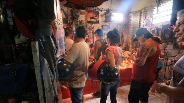 Los seguidores del Gauchito Gil armaron una gran fiesta popular