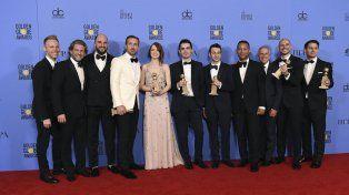 El musical La La Land arrasó en una nueva edición de los premios Globos de Oro