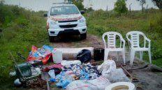 tres personas fueron detenidas tras robar en una casa