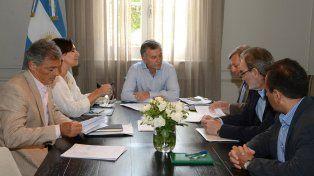 Macri volvió al trabajo con reuniones en la residencia de Olivos