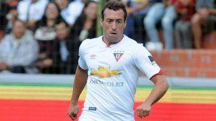 Alemán se encontraba gestionando su salida de la Liga Deportiva Universitaria de Quito.