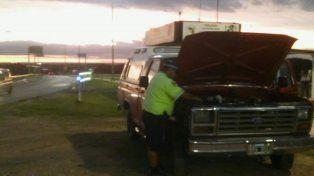 Secuestraron una camioneta en el puesto caminero de Victoria