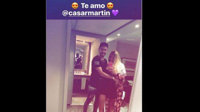 La foto que confirma el estado sentimental de Morena Rial