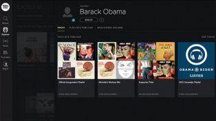 Spotify le ofrece un cargo a Barack Obama