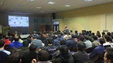Objetivo. El rector de la UNER, Jorge Gerard, valoró la iniciativa para la formación de estudiantes.