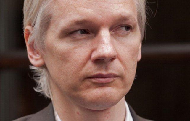 El australiano Julián Assange continúa refugiado en la embajada de Ecuador en Londres.