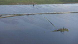 Un campo santafesino inundado. Foto UNO Santa Fe.