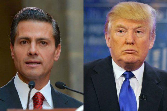 Peña Nieto le respondió a Trump: México no va a pagar por el muro