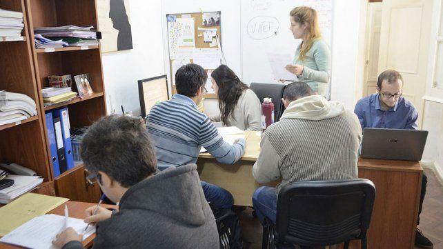 Recurso humano. Los estudiantes se forman en Entre Ríos.