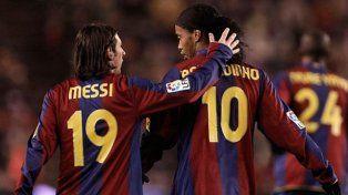 El consejo que le dio Ronaldinho a Messi cuando subió a primera