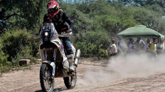 Fuerte accidente en el Dakar