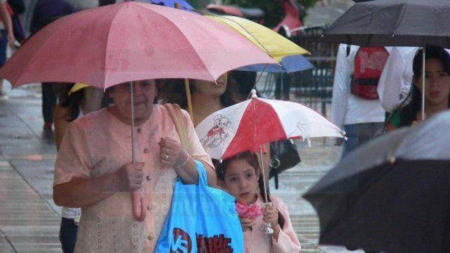 El fin de semana llega con muchas precipitaciones en Entre Ríos