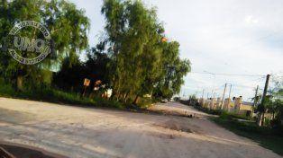 Calles en mal estado tras las lluvias en la zona de Bordón y Tibiletti