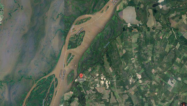 El cuerpo fue encontrado cerca de Piedras Blancas.