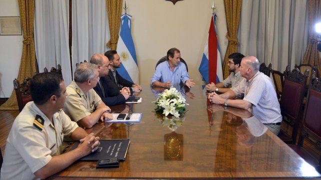 Bordet ratificó recursos para el operativo en el río Paraná