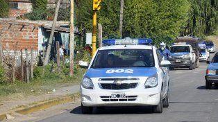 Presencia policial. Los vecinos se quejaron por los asaltos y robos en la 351.