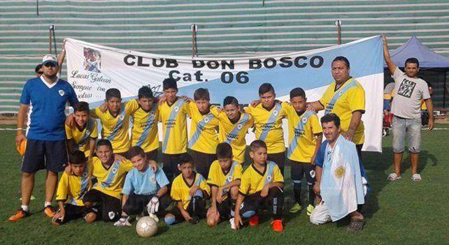 Los chicos de Don Bosco a paso firme en Chile