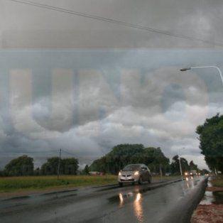 Rige un alerta meteorológico para Entre Ríos y otras provincias