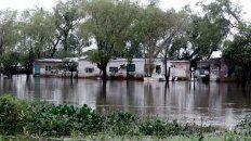 confirmaron 600 evacuados tras las intensas lluvias en santa fe