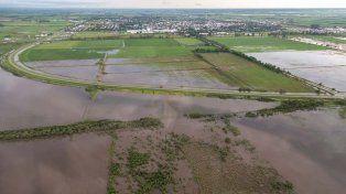Por las inundaciones