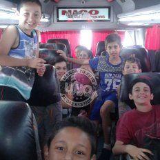 Los chicos de Don Bosco ya están en camino a Paraná