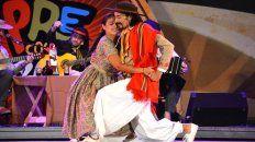 Pareja en la vida y el escenario. Bailar es una parte esencial en la vida de Romina y de Mauro.