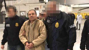 Chapo Guzmán llegó a Estados Unidos extraditado desde México