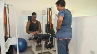 Pablo Migliore realizó trabajos de gimnasio bajo la órbita del kinesiólogo Pablo Rodríguez.