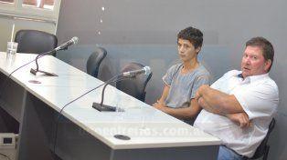 Audiencia. El joven, que no terminó la Primaria, contó que no recuerda su fecha de cumpleaños.