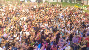 Fiesta de la Cerveza en Crespo: Los asistentes bailaron hasta el amanecer