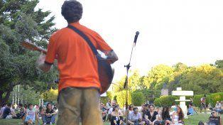 El encuentro del año pasado en la plaza Sáenz Peña. Foto UNO Mateo Oviedo.
