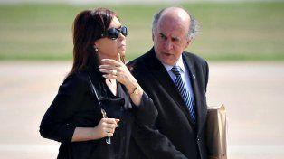 El contenido del audio de Cristina Fernández con Parrilli